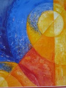 Universum 2 , 2011, 50 x 60 cm Vk