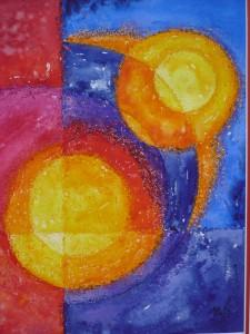 Universum 1 ,  2011,  50 x 60  Vk